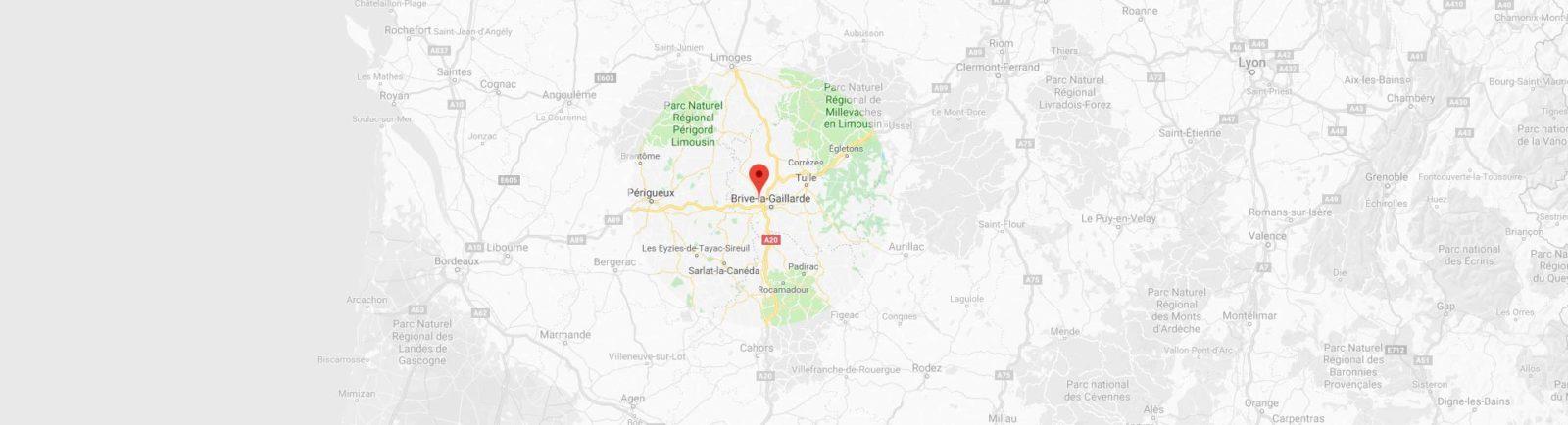 Zone d'intervention - Sarl Da Costa Albino | maçon à Brive-la-Gaillarde